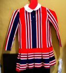 Edles 70er Jahre Kleid Größe ca. 116