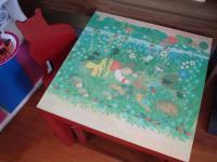 """Tisch - """"Katze im Gras"""""""