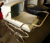"""60er Jahre Kinderwagen """"Babyblue"""""""