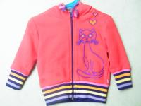 "Smafolk Kapuzenjacke ""Cat in Love"""